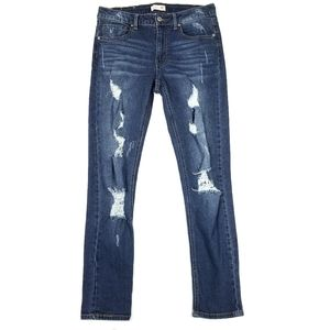 Altar'd State Skinny Girlfriend Distressed Jeans